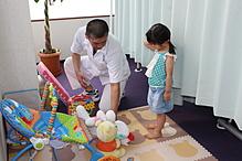 斉藤整体院、院内のようす。受付、施術スペース